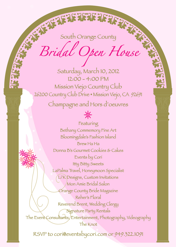 Bridal Gowns Orange County Mission Viejo Ca : Special invitations for brides mission viejo country