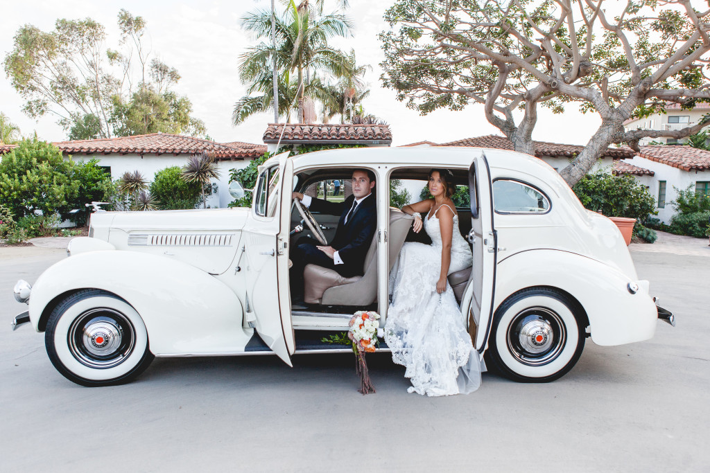Casa Romantica wedding styled photo shoot rolls royce packard
