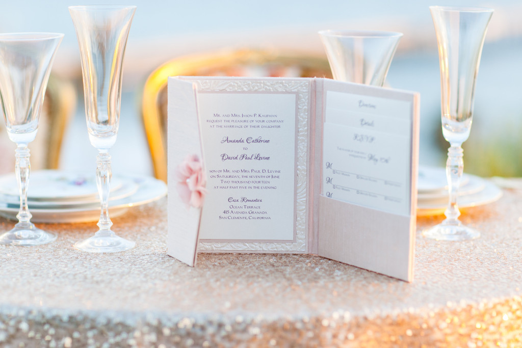 Casa Romantica wedding styled photo shoot invitations table numbers weddings