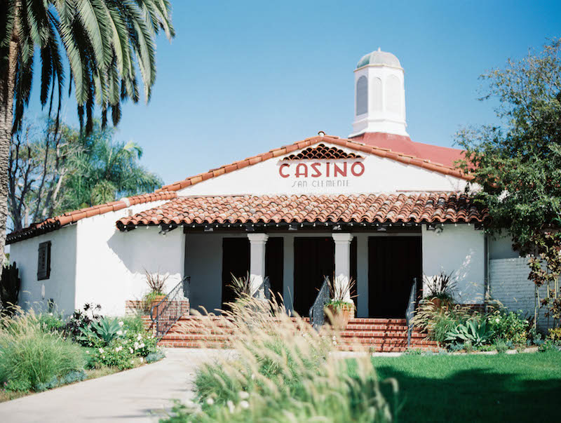 The Casino San Clemente wedding Event by Cori beach, wedding planning, vintage